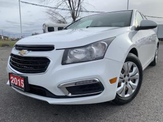 Used 2015 Chevrolet Cruze 1LT LT AUTOMATIC for sale in Carleton Place, ON