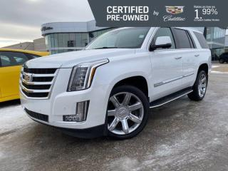 Used 2016 Cadillac Escalade Luxury 4WD | Cooled Seats | CUE w/Navigation for sale in Winnipeg, MB