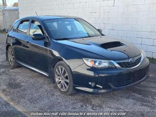 Used 2008 Subaru Impreza WRX Premium Package for sale in Whitby, ON