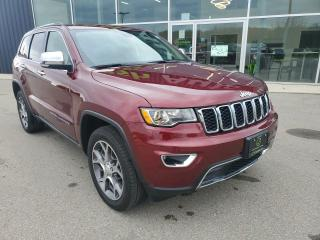 Used 2020 Jeep Grand Cherokee Limited Heated Seats, Backup Cam, Bluetooth!! for sale in Ingersoll, ON