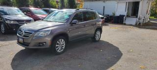 Used 2011 Volkswagen Tiguan Highline for sale in Scarborough, ON