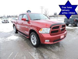 Used 2009 Dodge Ram 1500 Sport Hemi 4X4 Crew Only 114000 km for sale in Gorrie, ON