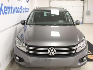 Used 2014 Volkswagen Tiguan AWD   Heated Leather Seats   Sunroof   Fuel Efficient   Great Ride! for sale in Edmonton, AB