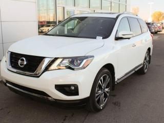New 2020 Nissan Pathfinder Platinum for sale in Edmonton, AB