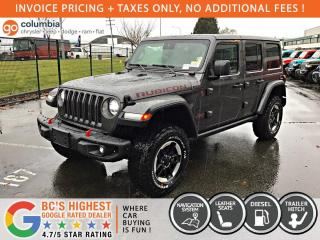 New 2021 Jeep Wrangler Rubicon Diesel for sale in Richmond, BC