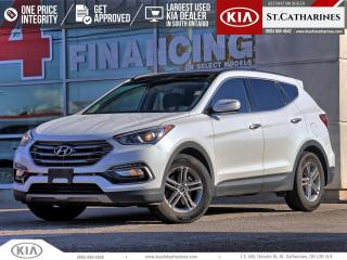 Used 2017 Hyundai Santa Fe Sport LUXURY | NAVIGATION | LEATHER | PARKING SENSOR for sale in St Catharines, ON