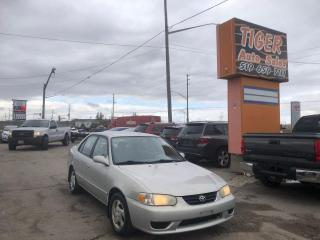 Used 2001 Toyota Corolla CE*ONLY 142KMS*DRIVES PERFECT*OILED*POWER*AS IS for sale in London, ON