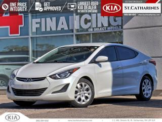 Used 2016 Hyundai Elantra GL | Bluetooth | Heated Seat | Cruise Control for sale in St Catharines, ON