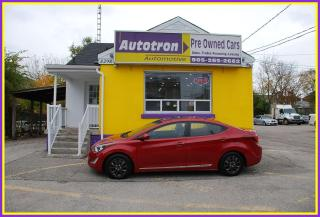 Used 2015 Hyundai Elantra 2015 Hyundai Elantra GLS for sale in Woodbridge, ON