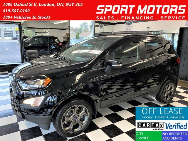 2018 Ford EcoSport SES+4WD+Sunroof+Nav+GPS+Accident Free
