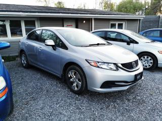 Used 2013 Honda Civic LX for sale in Ottawa, ON