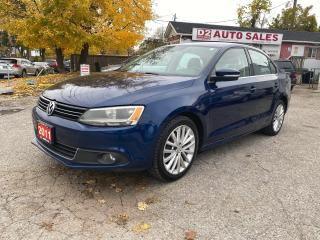 Used 2011 Volkswagen Jetta Automatic/Leather/Navi/Bluetooth/Certified for sale in Scarborough, ON