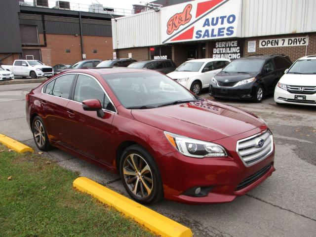 2015 Subaru Legacy 2.5i w/Limited Pkg ~ LEATHER ~ NAV ~ REAR CAMERA