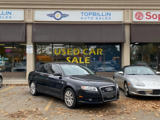 Used 2008 Audi A4 2.0T AWD 6 Speed, 2 Years Warranty for sale in Vaughan, ON