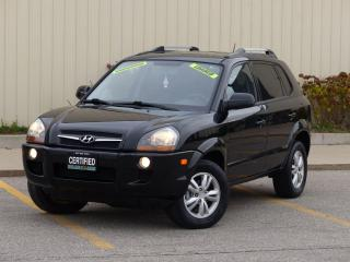 Used 2009 Hyundai Tucson NAVIGATION,HEATD SEAT,LOADED,NO-ACCIDENT,CERTIFIED for sale in Mississauga, ON