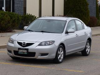 Used 2008 Mazda MAZDA3 ONE-OWNER,POWER OPTIONS,NO-ACCIDENT,CERTIFIED for sale in Mississauga, ON
