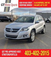Used 2011 Volkswagen Tiguan Highline | $0 DOWN - EVERYONE APPROVED! for sale in Calgary, AB