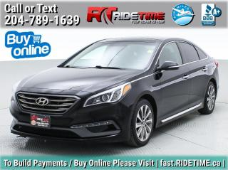 Used 2015 Hyundai Sonata 2.4L Sport Tech for sale in Winnipeg, MB