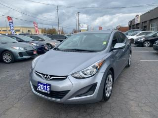 Used 2015 Hyundai Elantra GL for sale in Hamilton, ON