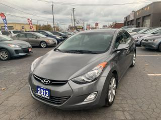 Used 2013 Hyundai Elantra Limited for sale in Hamilton, ON