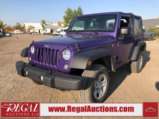 Used 2018 Jeep Wrangler JK Sport 2D Utility 4WD 3.6L for sale in Calgary, AB