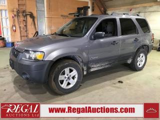 Used 2007 Ford Escape Hybrid 4D Utility AWD for sale in Calgary, AB