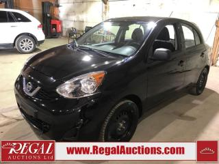 Used 2015 Nissan Micra 4D HATCHBACK for sale in Calgary, AB
