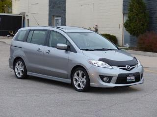 Used 2010 Mazda MAZDA5 GRAND TOURING,LEATHER,LOADED,NO-ACCIDENT,CERTIFIED for sale in Mississauga, ON