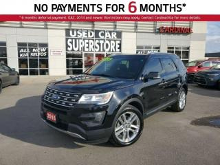 Used 2016 Ford Explorer XLT, AWD, Navigation, Leather, Sunroof. for sale in Niagara Falls, ON