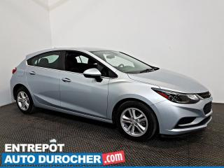 Used 2018 Chevrolet Cruze LT Automatique - AIR CLIMATISÉ - Caméra de Recul for sale in Laval, QC
