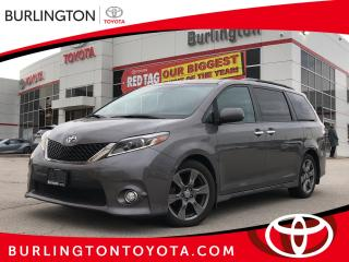 Used 2017 Toyota Sienna SE for sale in Burlington, ON