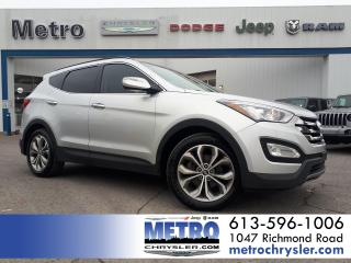 Used 2014 Hyundai Santa Fe Sport 2.0T Limited with Saddle Leather for sale in Ottawa, ON