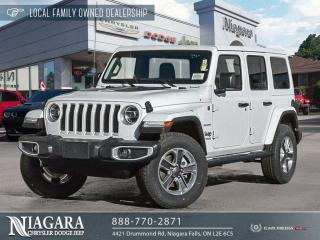 New 2021 Jeep Wrangler Unlimited Unlimited Sahara for sale in Niagara Falls, ON
