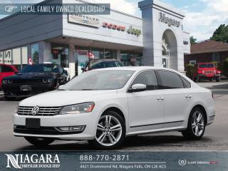 Used 2015 Volkswagen Passat HIGHLINE for sale in Niagara Falls, ON