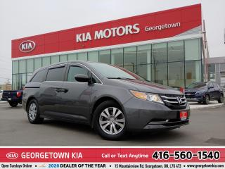 Used 2015 Honda Odyssey SE | 1 OWNER | B/U CAM | B/TOOTH | ALLOYS |95,453K for sale in Georgetown, ON