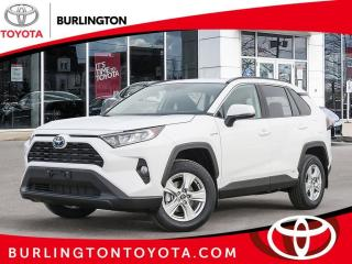 New 2021 Toyota RAV4 HYBRID XLE AWD for sale in Burlington, ON