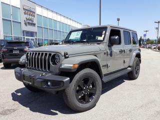 New 2021 Jeep Wrangler Unlimited NAVI LEATHER LED LIGHTS COLD WEATHER GROUP for sale in Pickering, ON