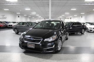 Used 2016 Subaru Impreza AWD I REAR CAMERA I HEATED SEATS I POWER OPTIONS I BLUETOOTH for sale in Mississauga, ON