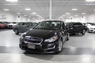 Used 2016 Subaru Impreza AWD I REAR CAM I HEATED SEATS I POWER OPTIONS I BLUETOOTH for sale in Mississauga, ON