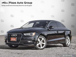 Used 2016 Audi A3 2.0T Komfort (S tronic) | CLEAN | ONE OWNER for sale in Walkerton, ON
