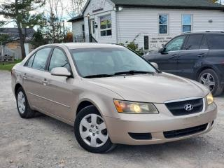 Used 2007 Hyundai Sonata 1-Owner GLS 2.4L Power Group A/C for sale in Sutton, ON