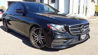 Used 2019 Mercedes-Benz E-Class E450 4MATIC Sedan - NAV! BACK-UP CAM! PANO ROOF! BURMESTER SOUND! for sale in Kitchener, ON