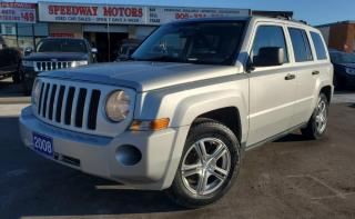 Used 2008 Jeep Patriot 4WD 4dr Sport - Low Mileage, Auto, AC, Power Options for sale in Oakville, ON