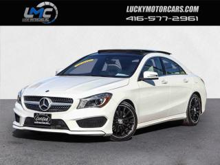 Used 2016 Mercedes-Benz CLA-Class CLA250 4MATIC AMG SPORT PKG-PANOROOF-CAM-NO ACCIDENTS-45KMS for sale in Toronto, ON