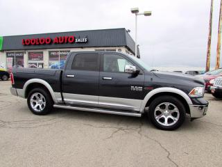 Used 2014 RAM 1500 Laramie Crew Cab 4WD Diesel Navi Camera Certified for sale in Milton, ON