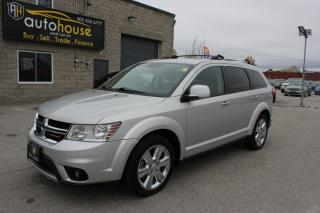 Used 2013 Dodge Journey R/T / AWD / 7 PASS / LEATHER / SUNROOF / NAV / BACKUP CAMERA for sale in Newmarket, ON
