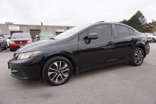 Used 2013 Honda Civic LX CAMERA CERTIFIED 2YR WARRANTY BLUETOOTH HEATED SEAT ALLOYS for sale in Milton, ON