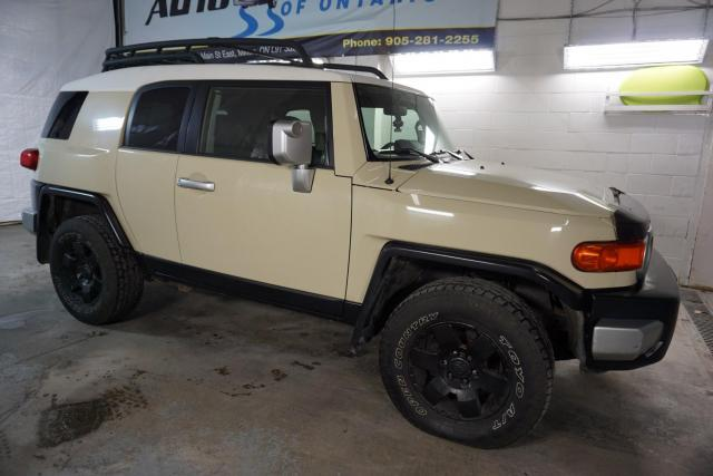 2008 Toyota FJ Cruiser OFF-ROAD 4WD V6 CERTIFIED 2YR WARRANTY *FREE ACCIDENT* CRUISE PARKING SENSORS