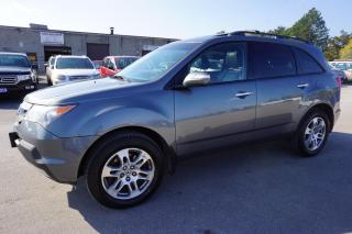 Used 2008 Acura MDX TECH PKG AWD 7 PSSNGRS NAVI CAMERA DVD CERTIFIED 2YR WARRANTY BLUETOOTH SUNROOF HEATED LEATHER MEMORY POWER SEAT for sale in Milton, ON