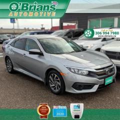 Used 2017 Honda Civic Sedan EX for sale in Saskatoon, SK